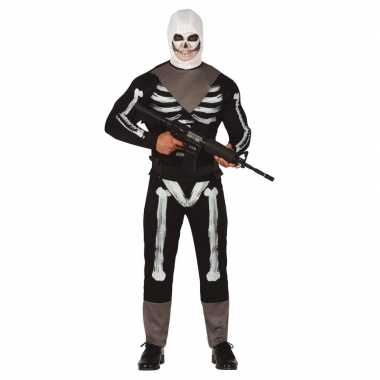 Skelet soldaat verkleed carnavalskleding heren arnhem