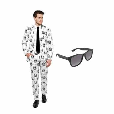 Stormtrooper heren carnavalskleding maat (s) gratis zonnebril arnhem