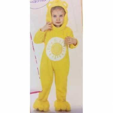 Troetelberen carnavalskleding geel meisjes arnhem