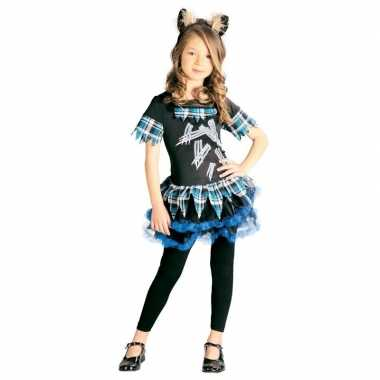 Weerwolf verkleedcarnavalskleding meisjes weerwolvencarnavalskleding