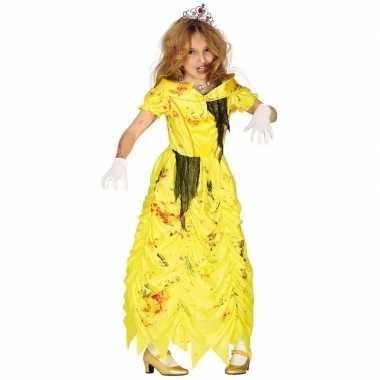 Zombie prinses belle verkleedcarnavalskleding meisjes prinsessenjurk