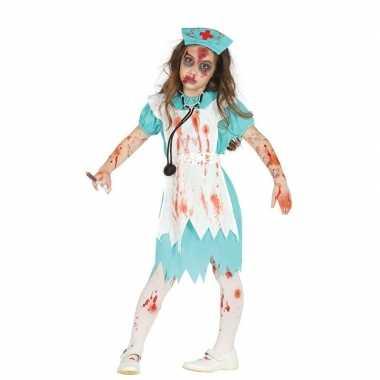 Zombie verpleegster/zuster verkleedcarnavalskleding meisjes arnhem