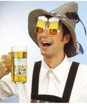 Carnavalskleding bril model bierglas arnhem