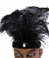 Carnavalskleding charleston hoofdband veren arnhem