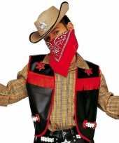 Carnavalskleding cowboy hesje zwart kinderen arnhem