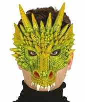 Carnavalskleding draak draken horror masker foam arnhem