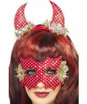 Carnavalskleding duivel setje rood arnhem