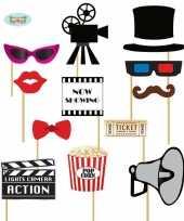 Carnavalskleding foto prop set bioscoop arnhem