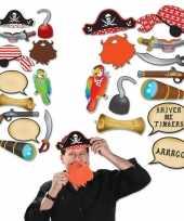 Carnavalskleding foto prop set piraat arnhem 10151863