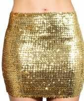Carnavalskleding gouden glitter pailletten disco rokje dames arnhem