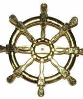 Carnavalskleding gouden matroos zeeman verkleed broche scheepsroer arnhem