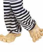Carnavalskleding grote vinyl nep voeten arnhem