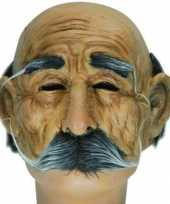 Carnavalskleding half masker oude man arnhem