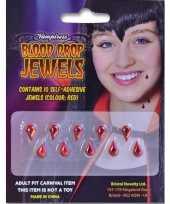 Carnavalskleding halloween accessoires tien plak bloeddruppels arnhem