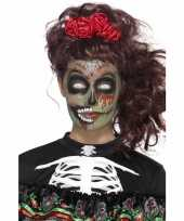 Carnavalskleding halloween day of the dead schmink set zombie arnhem