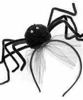 Carnavalskleding halloween diadeem zwarte spin arnhem