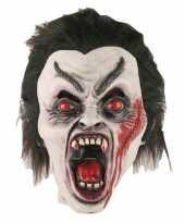 Carnavalskleding halloween halloween dracula masker latex arnhem