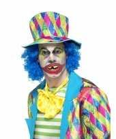 Carnavalskleding halloween horror clown gebitje volwassenen arnhem