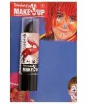 Carnavalskleding halloween horror mat zwarte lippenstift lipstick arnhem