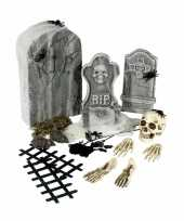 Carnavalskleding halloween kerkhof set grafstenen arnhem