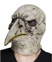 Carnavalskleding halloween latex halloween adelaar vogel masker volwassenen arnhem