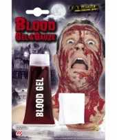 Carnavalskleding halloween tube bloed gel gaasje arnhem