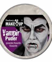 Carnavalskleding halloween vampier poeder schmink arnhem