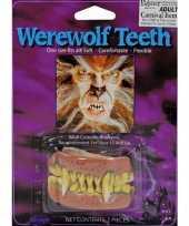Carnavalskleding halloween weerwolf gebitje arnhem