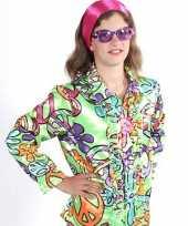 Carnavalskleding hippie blouse peace kids arnhem