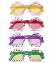 Carnavalskleding hippie bril volwassenen arnhem