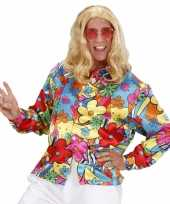 Carnavalskleding hippie shirt bloemen arnhem