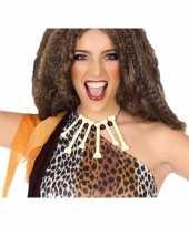 Carnavalskleding holbewoners botten ketting accessoires arnhem