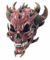 Carnavalskleding horror duivel masker rubber arnhem