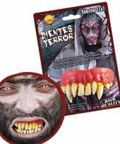 Carnavalskleding horror gebitje monster tanden arnhem