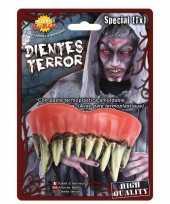 Carnavalskleding horror monster gebit neptanden halloween accessoire arnhem 10162763