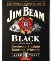 Carnavalskleding jim beam black bourbon muurplaat arnhem