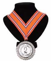 Carnavalskleding kampioensmedaille nr aan oranje rood wit blauw lint arnhem 10091798