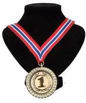 Carnavalskleding kampioensmedaille nr aan rood wit blauw lint arnhem 10091789