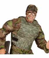 Carnavalskleding kogelvrij camouflage vest arnhem