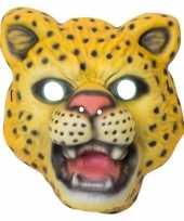 Carnavalskleding luipaard panter verkleed dierenmasker kinderen arnhem