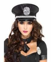 Carnavalskleding luxe politie pet pailletten arnhem