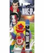 Carnavalskleding make up stift blauw arnhem