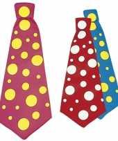 Carnavalskleding maxi stropdas stip arnhem