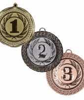 Carnavalskleding medailles set goud zilver brons arnhem