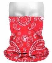 Carnavalskleding multifunctionele morf sjaal boeren zakdoek print arnhem