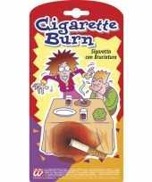 Carnavalskleding nep sigaret brandplek arnhem