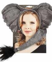 Carnavalskleding olifant verkleed setje arnhem