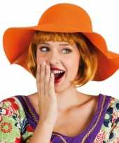 Carnavalskleding oranje flaphoed dames arnhem