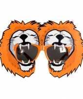 Carnavalskleding oranje fun bril leeuwen arnhem