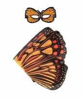 Carnavalskleding oranje monarchvlinder verkleedset meisjes arnhem
